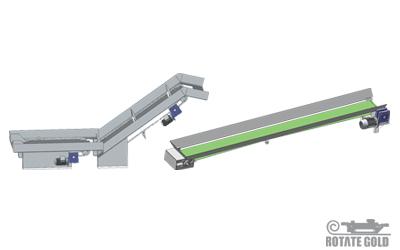 Feeding machine and Garbage conveyor