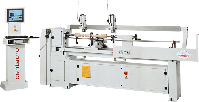 CNC Semi-Automatic Lathe - T*Star