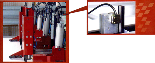 Micro-feed Linear detection system