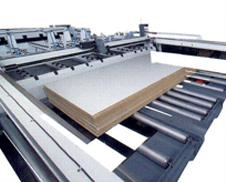 Quadruple column level lifting table