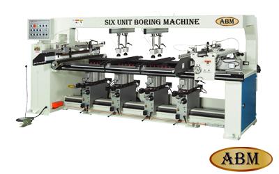 HS-114T / HS-196T Six/Nine-Unit Boring Machine