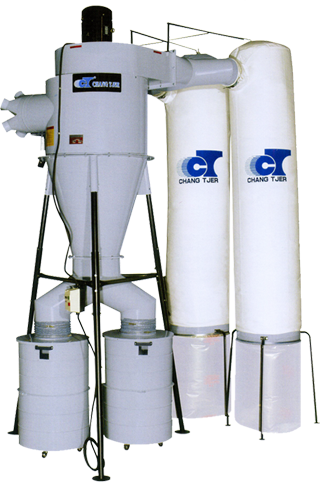 10 HP Two Stage Dust Cyclone (Two Bags Type)