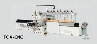 FC 4 CNC – CNC Copying sanding shapers