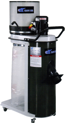 New Style 1HP Dust Collector With Floor Suction (UB-801CK)