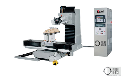 Smart – 5 Axes CNC Machining Center