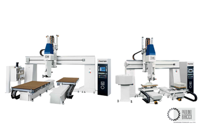 Master – 5 Axes CNC Machining Center