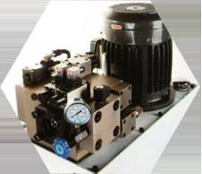 Hydraulic pressure station