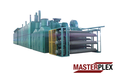 3 Decks Mesh Belt Dryer