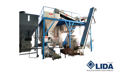 1-1.5 ton/hour Pellet Production Line
