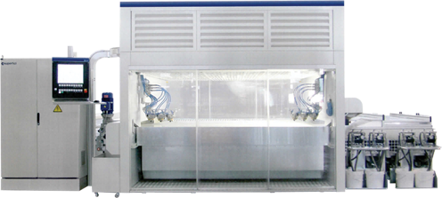 Air Filtration System - Dry - Wet Bed with Automatic Filtration 1
