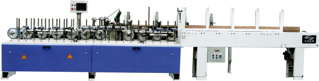 HY-SJ-300 - EVA Glue Profile Piece-Together Machine