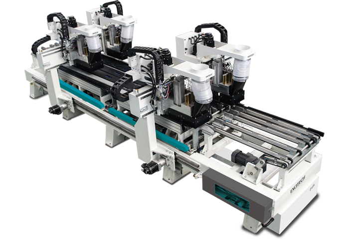 ET0724 - High-speed Throughfeed Drilling Machine