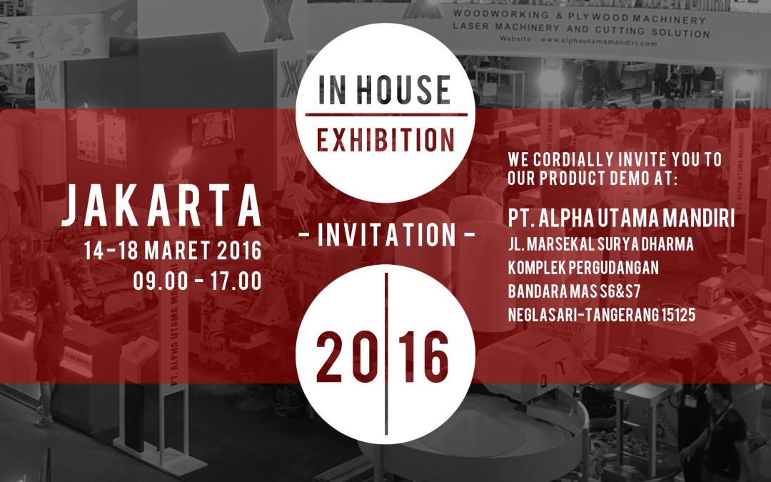 Jakarta In-House Exhibition 2016