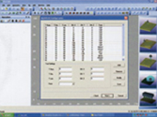 The display of tooling files