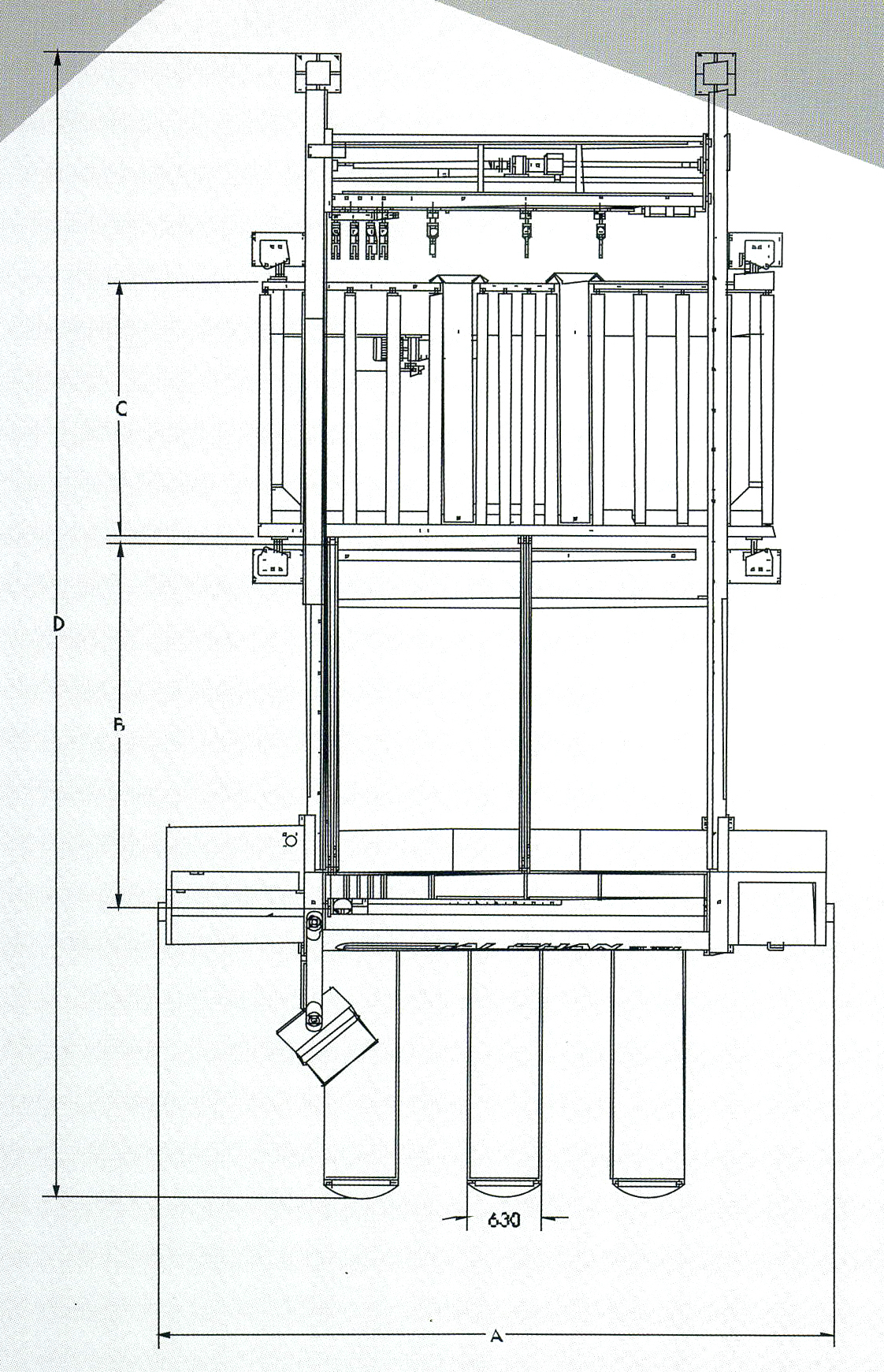 Dimensional drawing TPS-SNL