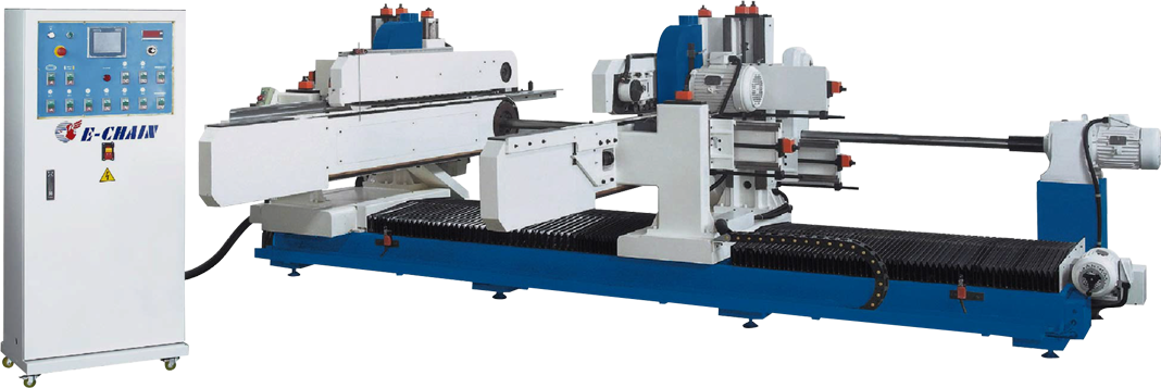 ECT-6 Series (6-Spindle Configuration) - Double-End Tenoner - Type S