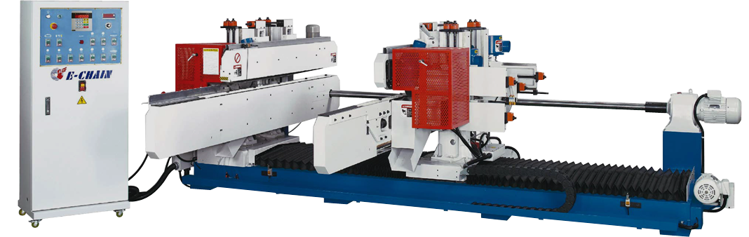 ECT-8 Series (8-Spindle Configuration) - Double-End Tenoner - A Type