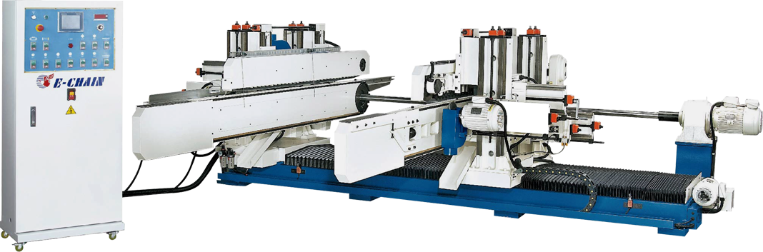 ECT-8 Series (8-Spindle Configuration) - Double-End Tenoner - S Type