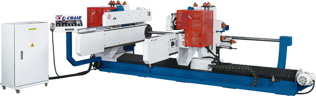 ECT-6 Series (6-Spindle Configuration) - Double-End Tenoner - A Type