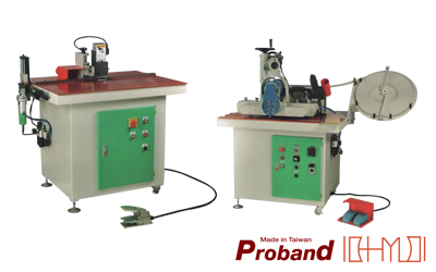 Tilting Manual Edge Banding Machine / Trimming Machine