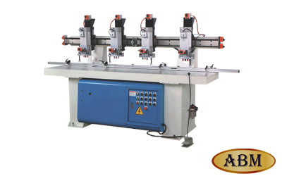 HS-4H – Four Head Hinge Boring Machine