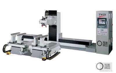 Twin – 6 Axes CNC Machining Center
