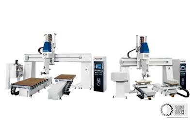 Master – 5 Axes CNC Machining Center