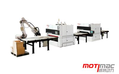SFR-R-P1300 / SUR-R-P1300 – Automatic Sanding Processing Line