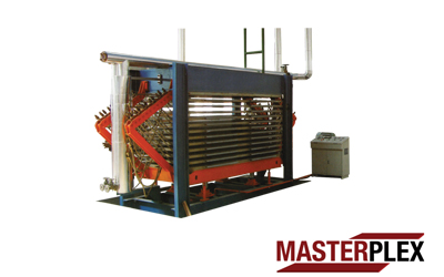 Press Dryer / Horizontal Side For Core Solid Platens