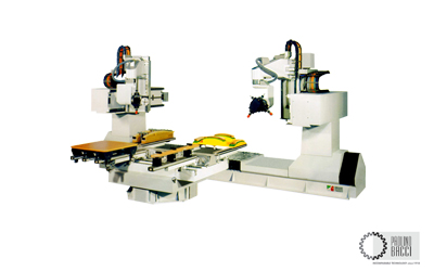 Gemini – 11 Axes CNC Machining Center