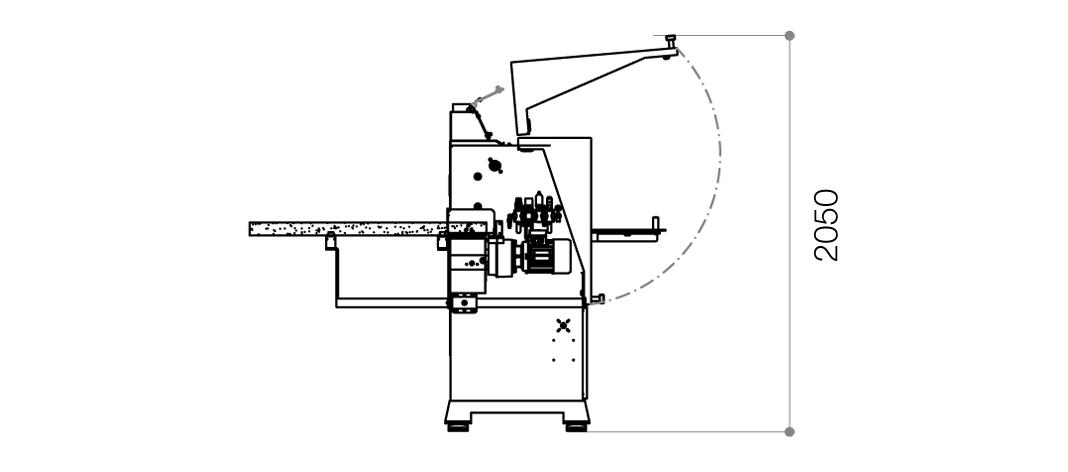 Dimensional drawing Flexa 27A_3