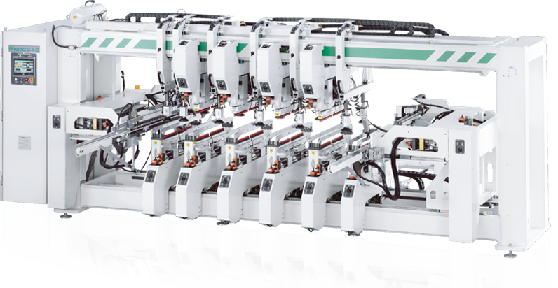 NDC642 – Auto Multi Rows Boring Machine