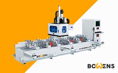JX-SC3200-4X2 / JX-SC4200-4X2 CNC Mortising Machine