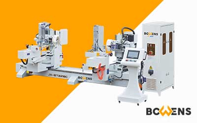 JX-ST2218 A/C/D Double Ended CNC Tenon Machine